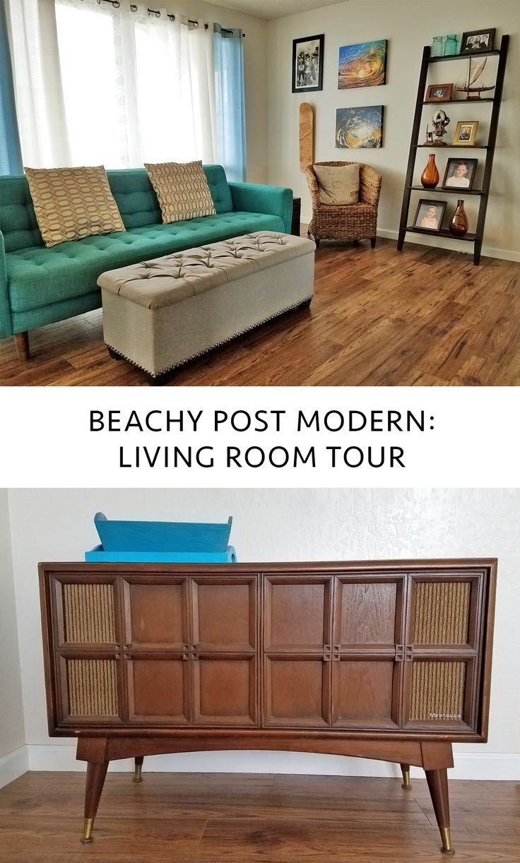 How do you sum up your home style? Are you modern, eclectic, or maybe more traditional? If I had to define my home decor taste I would have to say it falls somewhere in the realm of post modern and beach chic. ----------------------------------- #homedecor #livingroom #beachy #postmodern #hawaiistyle