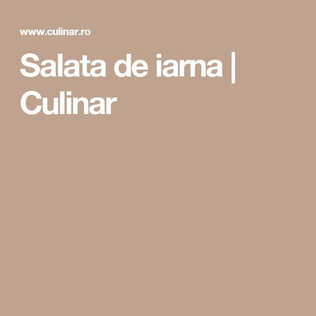 Salata de iarna | Culinar