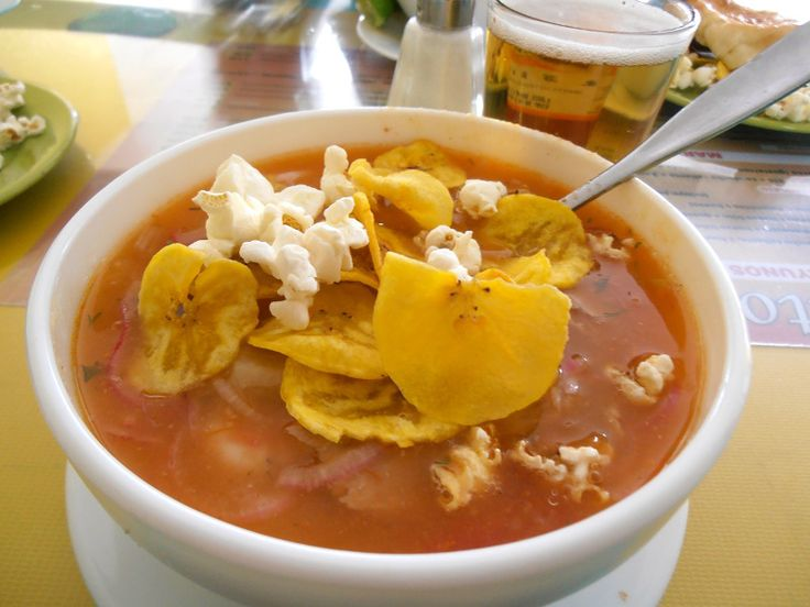 Pickled onions add a pleasant tang to this fresh fish stew recipe from the coastal region of Ecuador.