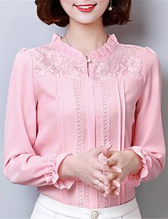 Blusa rosa goiaba manga longa