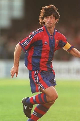 José Mari Bakero, born 11 February 1963, Spanish international attacking midfielder (1987–1994, 30 apps, 7 goals), Real Sociedad (1980-1988), FC Barcelona (1988-1997), Tiburones Rojos de Veracruz (1997). He began his career as a forward (not being a prolific goalscorer) but was converted into an attacking midfielder, who possessed passing, tireless and netting ability (with both his right foot and his head, the second despite his short stature) and great leadership skills. He will always be…