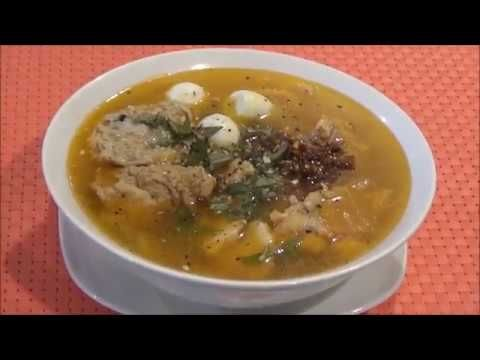 Udon Noodles Fish Soup