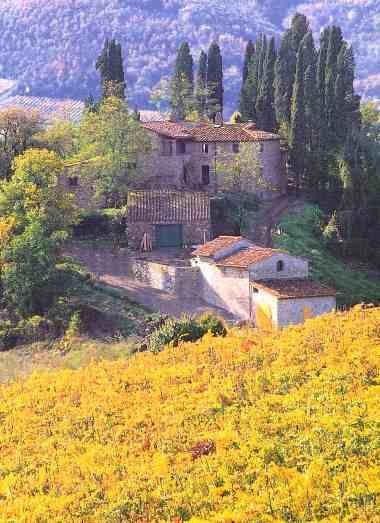 farmhouse tuscany agriturismo farm fattoria toscana Ecotouring Tuscany   Flickr - Photo Sharing!   Retirement dream :)