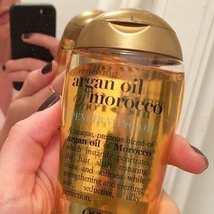 OGX Argan Oil Of Morocco   18 Underrated Products For Oily Hair That Actually Work