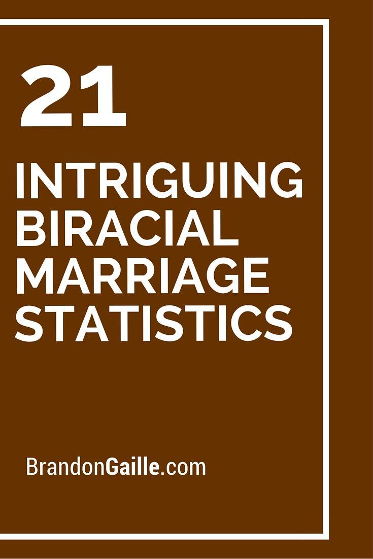 21 Intriguing Biracial Marriage Statistics