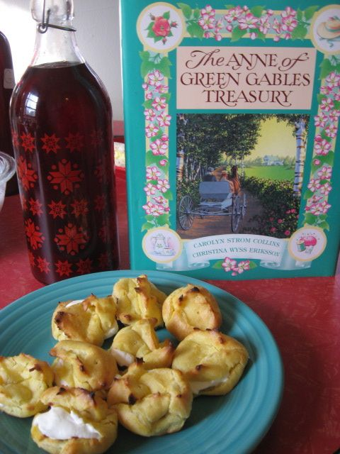 Plum Puffs - Anne of Green Gables style