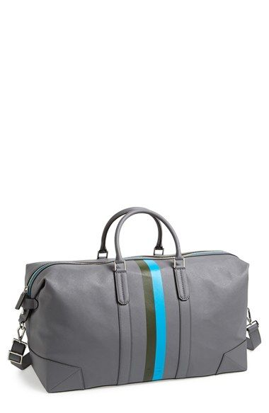 Ben Minkoff 'Wythe' Weekend Size Saffiano Leather Duffel Bag | Nordstrom