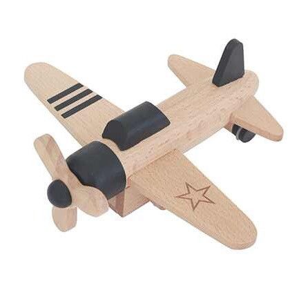 Kukkia - Kiko+ Hikoki propeller plane - black - Scout & Co