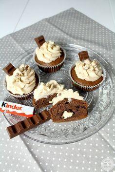 Wonderful Pieces: Saftige Kinderschokoladen-Cupcakes