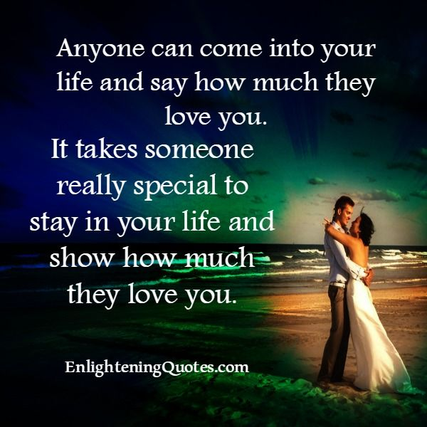 Quotes About Caring For Someone Special: If You #love, You Always Show Them. It's So Important To