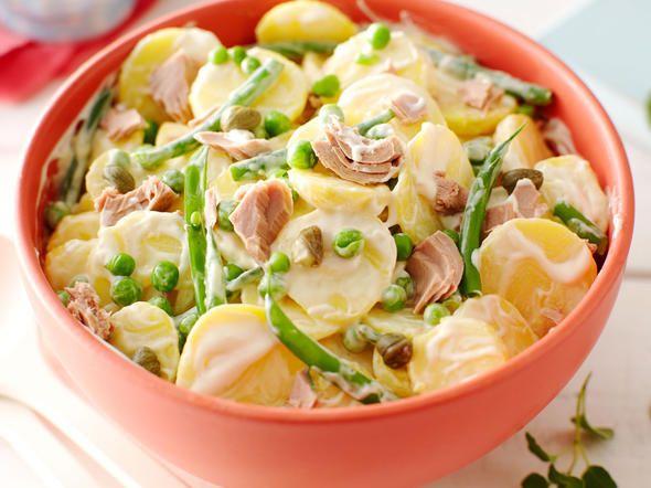 Kartoffelsalat mit Tunfisch