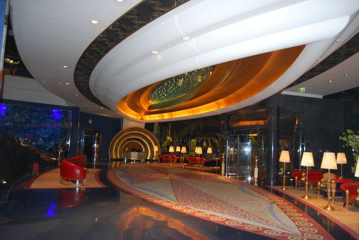 Reception, Hotel Burj al-Arab, Dubai