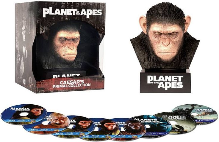 Planet Of The Apes - Caesar's Primal Collection (8 disc Blu-ray)