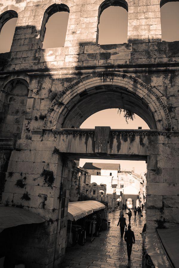 Split, Croatia farmers market for Travel Photo Mondays #croatia #travel #split
