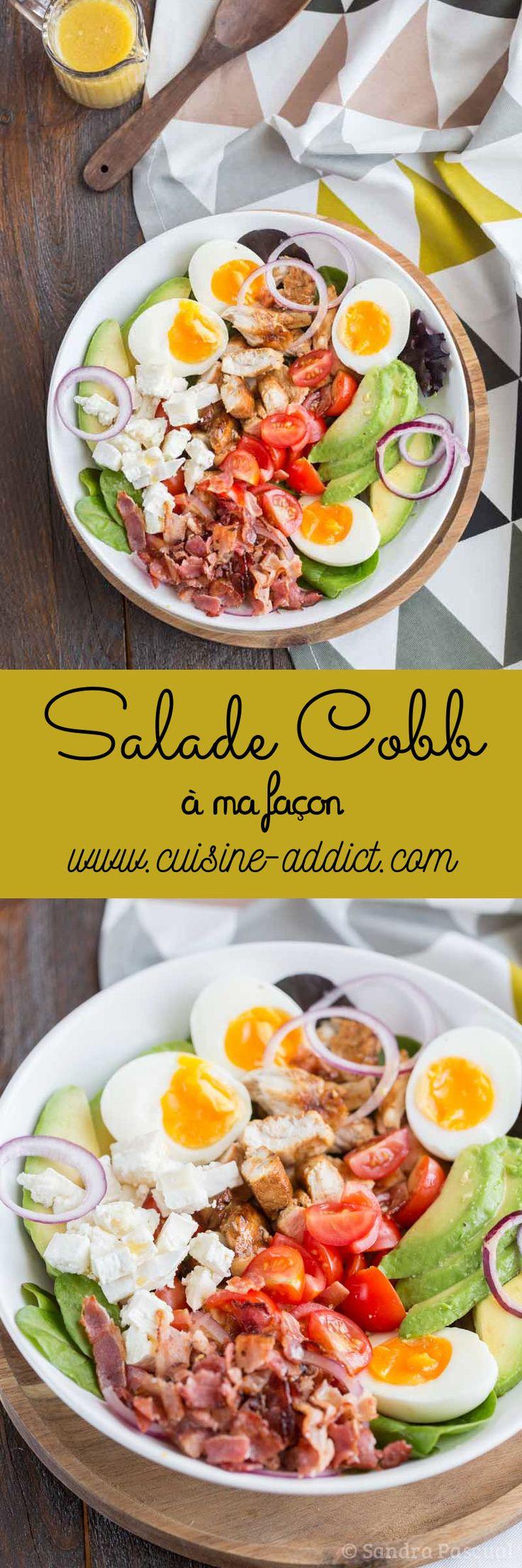Salade Cobb à ma façon