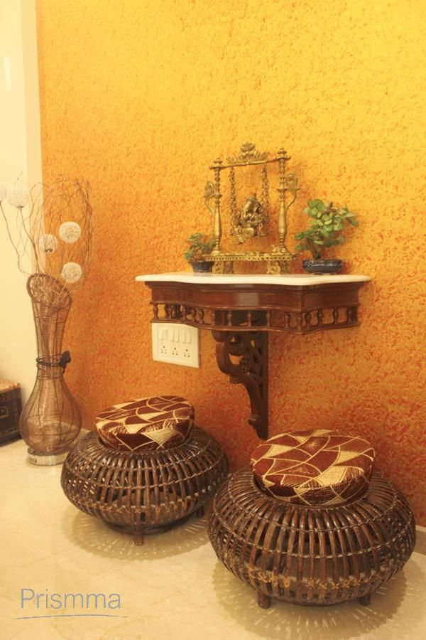 147 best pooja room design images on pinterest puja room for Indian ethnic living room designs