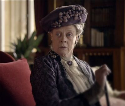 """Are we having tea or not?"" on Downton Abbey Season 1 Episode 3"