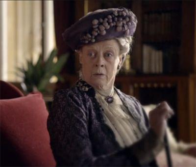 """Are we having tea or not?"" on Downton Abbey Season 1 Episode 3"