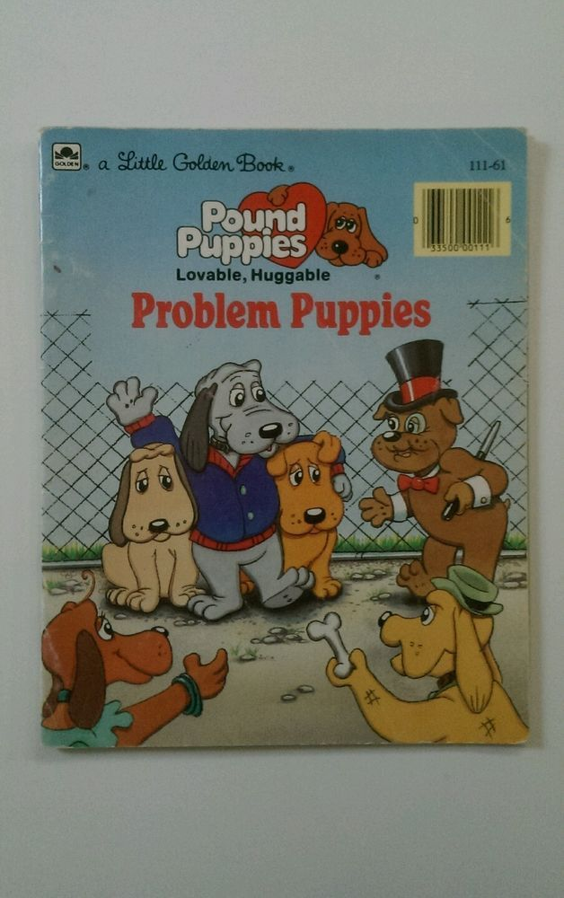 The Pound Puppies Problem Puppies Paperback Storybook