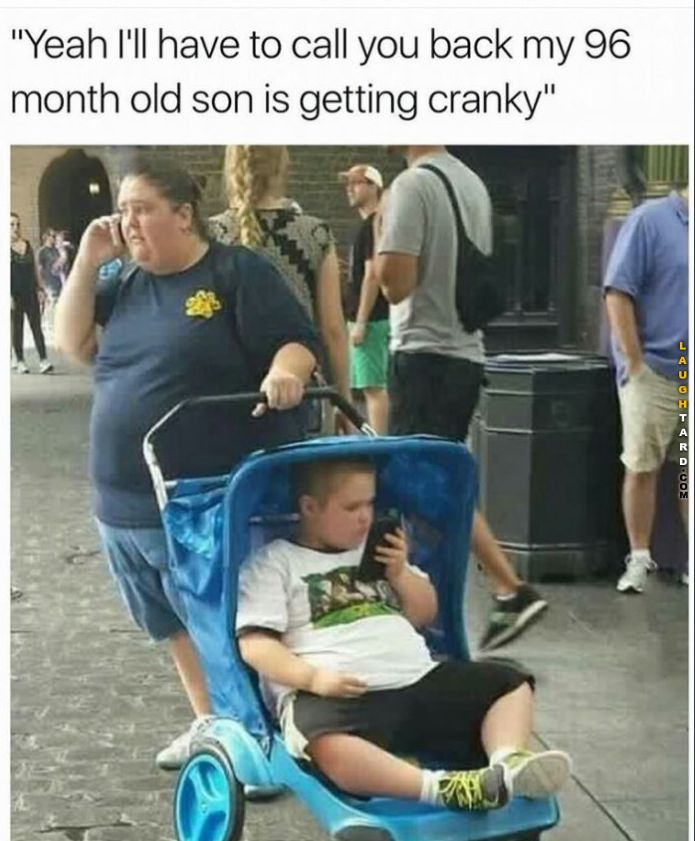 96 month old getting cranky