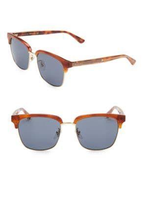 a81794eb48 GUCCI 56MM Round Havana Sunglasses.  gucci