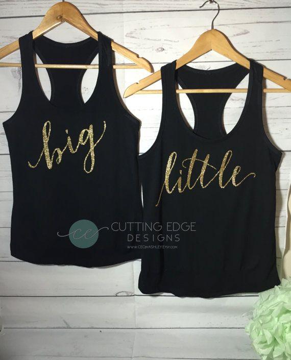 Sorority Shirt Big Little Sorority Big Little by CEdesignsByAshley