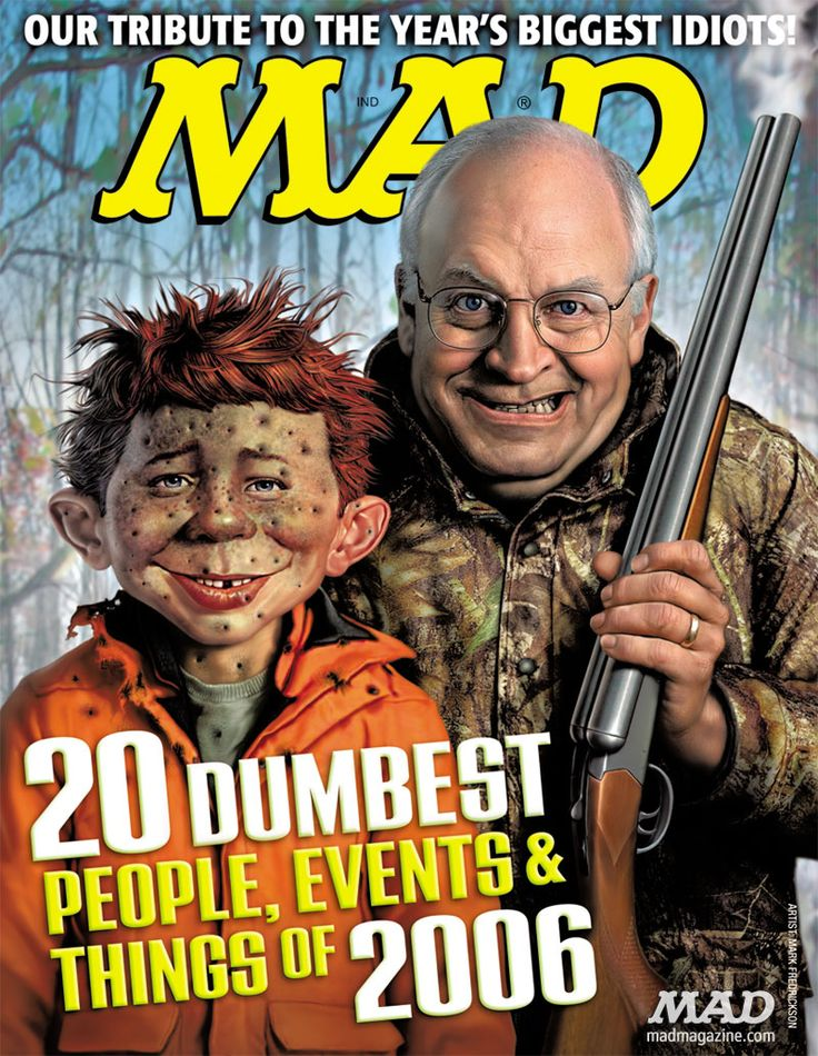 mad magazine   MAD Magazine Cover 473 Dick Cheney Mark ...