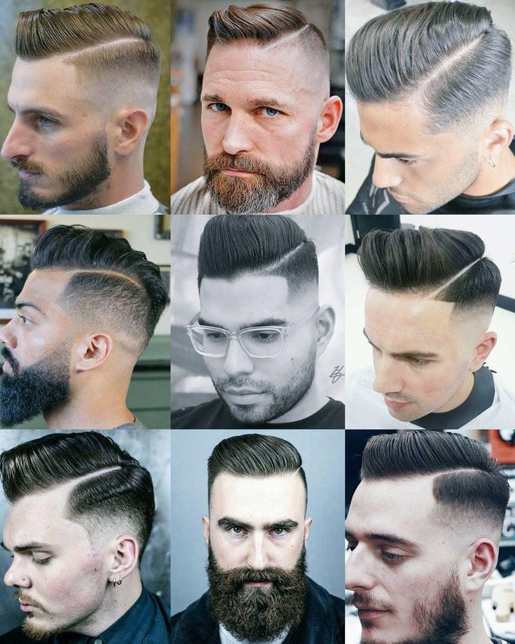 Hard Part Fade Side Parting Hairstyles | 1940's Hair | Side Part Haircut