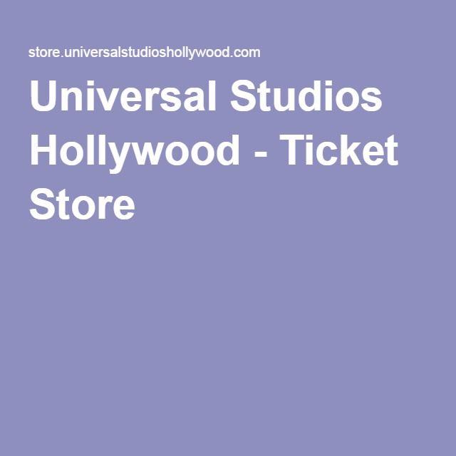 Universal Studios Hollywood - Ticket Store