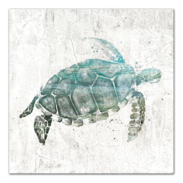 You Ll Love The Turquoise Sea Turtle Watercolor Painting Print