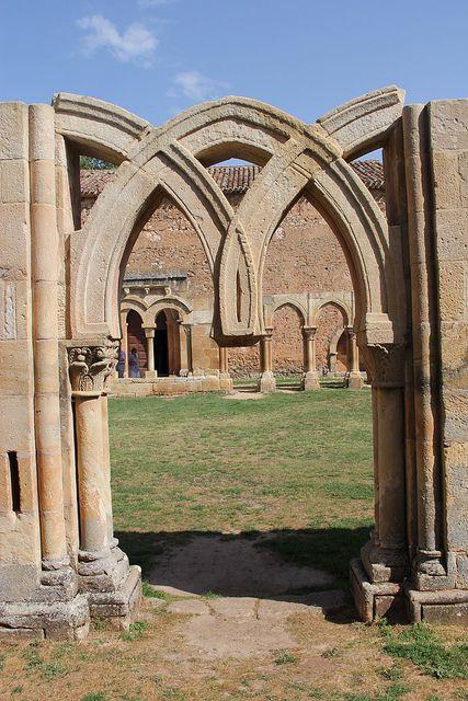 Claustro del Monasterio de San Juan de Duero, Soria   Spain