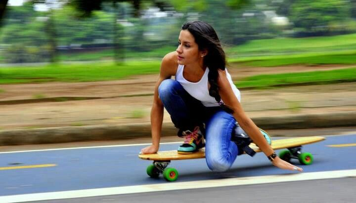 learn to skate #Long boards