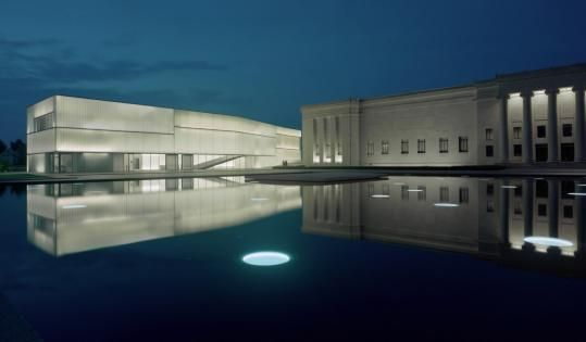 The Nelson Atkins and Bloch Building.  Kansas City, MO.