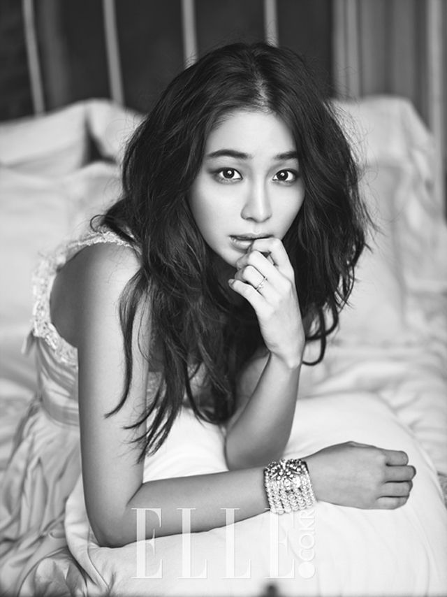 LMJxELLE || Wedding Spreads Of Lee Min Jung In Elle Korea's September 2013 Issue