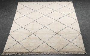 Lauritz.com - Orientaliska mattor - Marokkansk tæppe, 310x200 cm. - DK, Roskilde, Store Hedevej