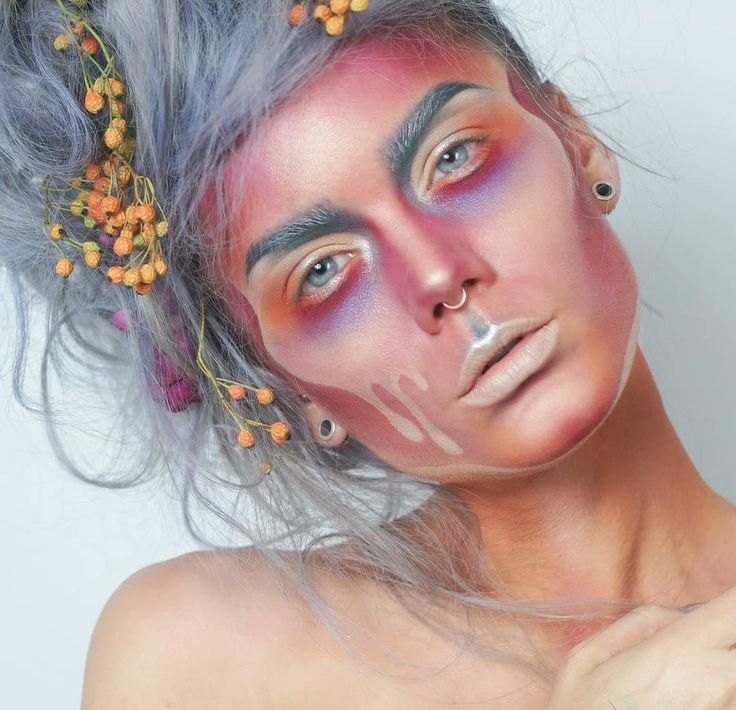 "Linda Hallberg (@lindahallbergs) on Instagram: ""Old favourite!  I want to get my creativity back nooow  #facepaint #mua #makeup"""