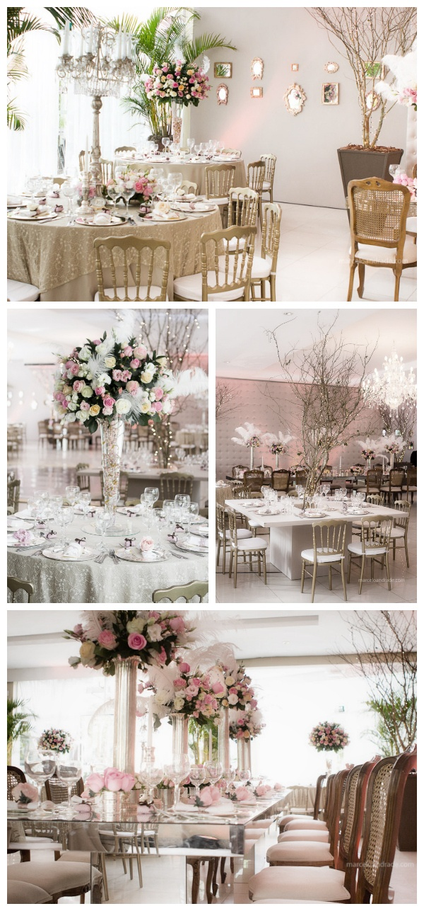 decoracao casamento glam vintage 1