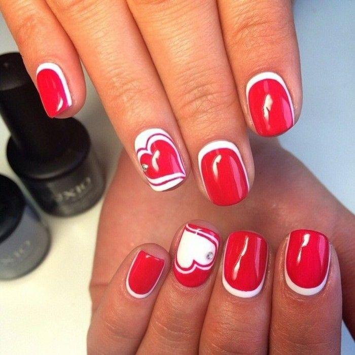 17 meilleures id es propos de ongles en gel rouge sur pinterest conceptions de manucure - Pied vernis rouge ...