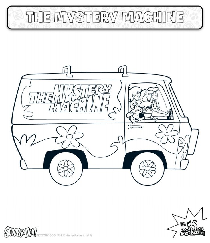 19 best Coloring Pages (Scooby Doo & Friends) images by Kristi ...