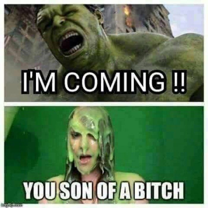 awesome Hulk is coming - adult meme | Funny Dirty Adult Jokes, Memes & Pictures by http://dezdemon-humor-addiction.top/adult-humor/hulk-is-coming-adult-meme-funny-dirty-adult-jokes-memes-pictures/