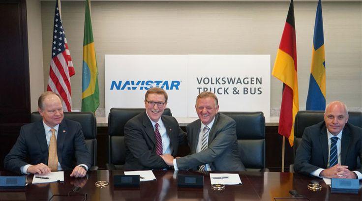 Volkswagen Camiones y autobuses cierra Alianza Estratégica con Navistar: http://automagazine.ec/volkswagen-truck-bus-cierra-alianza-estrategica-con-navistar/ http://automagazine.ec/