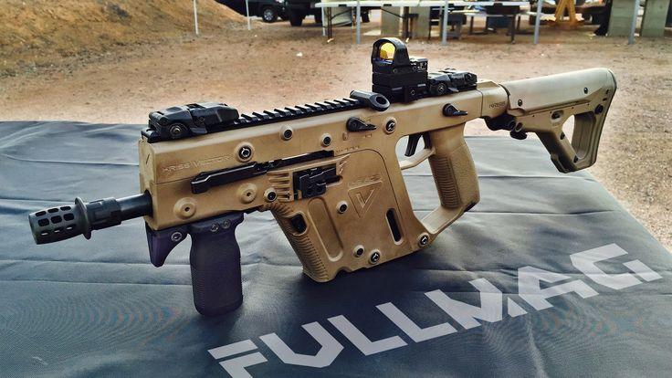 9mm Kriss Vector Submachine Gun #ShotShow