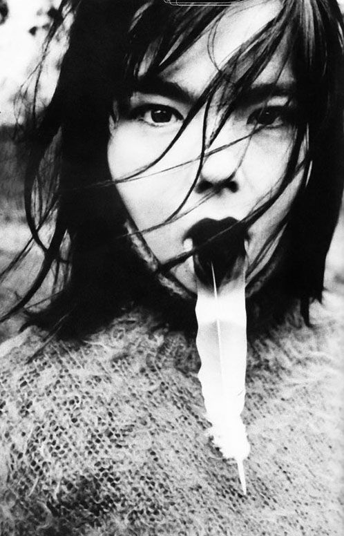 Björk by Renoud Monfourny 1994