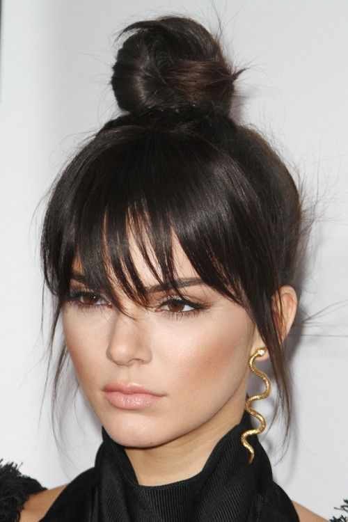 long bangs hair style best 10 bangs hair ideas on 8440 | 90fa1eb306e029d750411f633bd315a8 bangs long hair long straight bangs