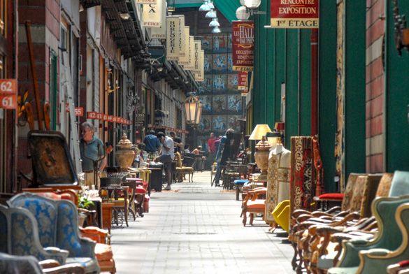 Antiques at the Marché Dauphine at the St-Ouen Flea Market http://www.nyhabitat.com/blog/2013/08/26/top-5-shopping-spots-paris/