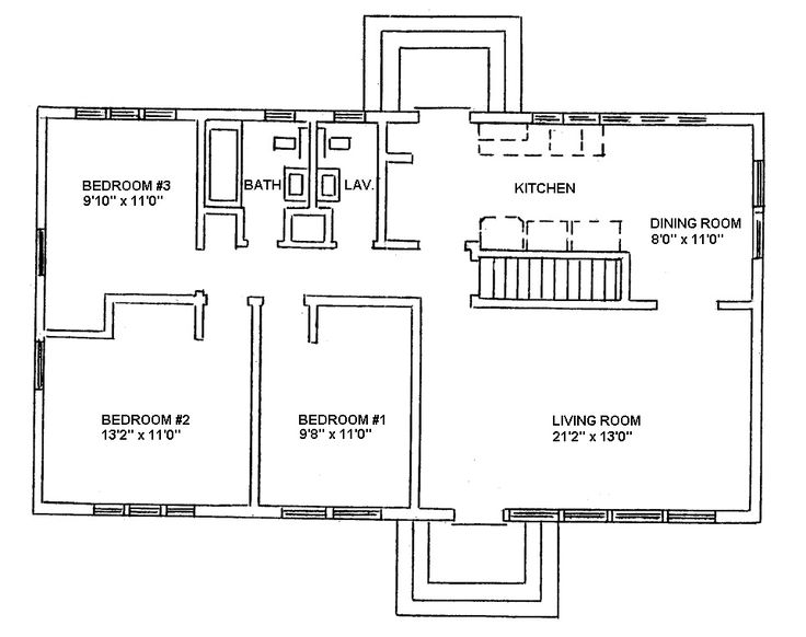 Ranch style house plans ranch style floor plans and Ranch house floor plan