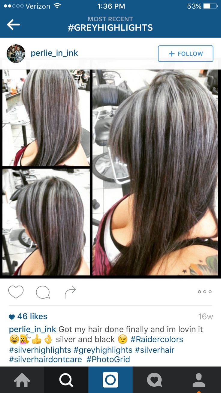 Don't want big thick streaks in my hair like that. Want it all to blend in