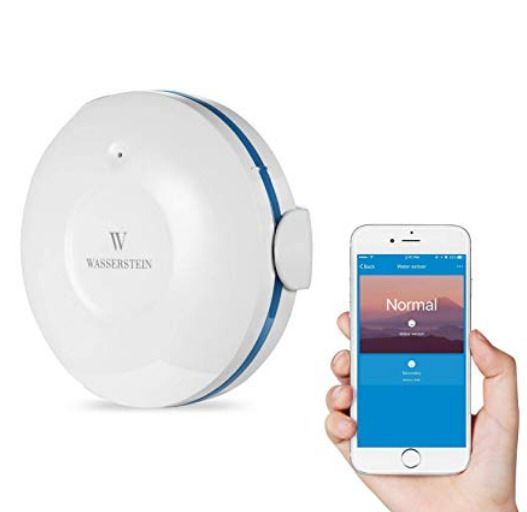 WiFi Water Sensor Alarm For Basement Flooding Leak Sump
