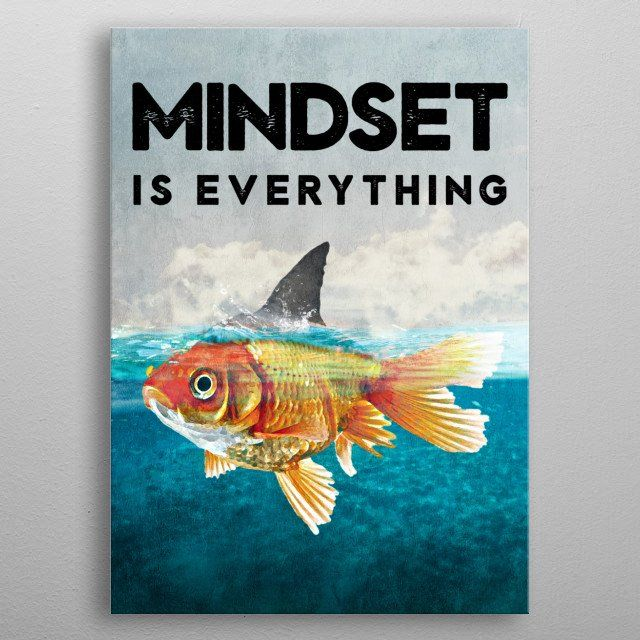 mindset is everything poster by