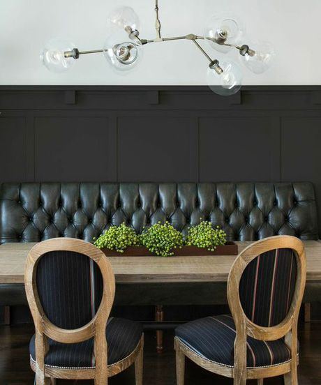 7 Easy Home Upgrades You Can Do This Weekend Banquette DiningTrestle Dining TablesTable